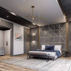Balıkesir Villa Modern Yatak Odası ANTE MİMARLIK Modern