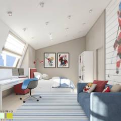 Nursery/kid's room by Мастерская интерьера Юлии Шевелевой,