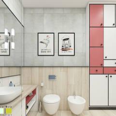 Зеленая роща: Ванные комнаты в . Автор – Мастерская интерьера Юлии Шевелевой, Эклектичный