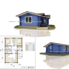 Casas unifamiliares de estilo  por Projectstroy