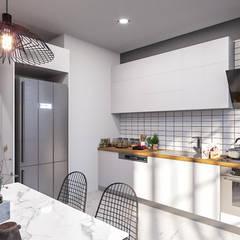 ANTE MİMARLIK  – Denizkent Villaları:  tarz Mutfak üniteleri