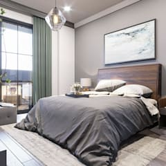 ANTE MİMARLIK  – Denizkent Villaları:  tarz Yatak Odası