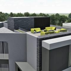 Casas multifamiliares de estilo  por EsboçoSigma, Lda