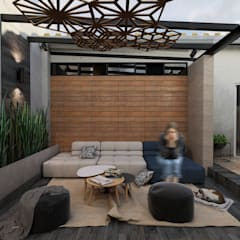 Balcony by Taller Siete Nueve Arquitectura, Eclectic