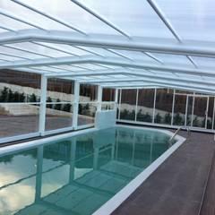 Modelo TRY: Piscinas de estilo  de UniSUR - Cubiertas para piscina