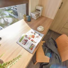 مكتب عمل أو دراسة تنفيذ 解構室內設計
