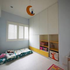 富亞室內裝修設計工程有限公司의  여아 침실, 북유럽 MDF