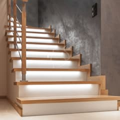 Dom w stylu modern-classic: styl , w kategorii Schody zaprojektowany przez Roble