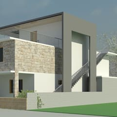 Luxury in a nutshell:  Villas by Innovature Research and Design Studio (IRDS)