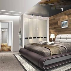 Dormitorios pequeños de estilo  por idd