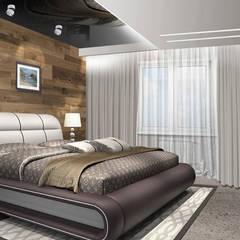 Проект квартиры S-100м2.: Маленькие спальни в . Автор – idd