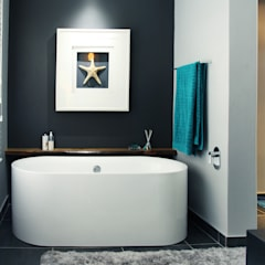 Vaal River:  Bathroom by Plan Créatif, Minimalist