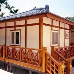 小木屋:  木屋 by 茂林樓梯扶手地板工程團隊
