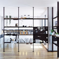 Ruang Keluarga oleh Damiano Latini srl, Minimalis Aluminium/Seng