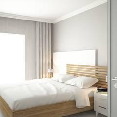 FA - Fehmi Akpınar İç Mimarlık  – Yatak odası tasarım:  tarz Yatak Odası