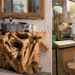 Baños de estilo  por nuovimondi di Flli Unia snc