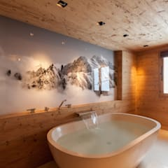 Badzimmer in Altholz:  Badezimmer von RH-Design