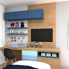 Boys Bedroom by Karine Battu Arquitetura, Modern
