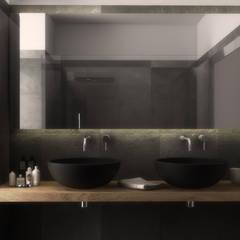 حمام تنفيذ  ILAB2.0 Design Studio , حداثي
