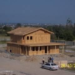Rumah kayu by EVSAN PREFABRİK