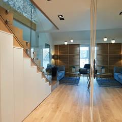 mieszkanie//86m: styl , w kategorii Korytarz, przedpokój zaprojektowany przez TOTAMSTUDIO pracownia architektury wnętrz