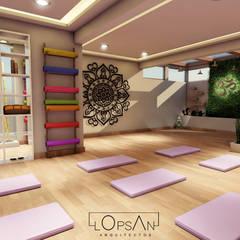 Ruang Komersial Modern Oleh LOPSAN ARQUITECTOS Modern