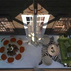 BJORNSON&CHELET CONCRETE FURNITURE – KEMERBURGAZ PROJE:  tarz Balkon
