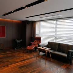59PY 아파트 인테리어 APT INTERIOR_부산인테리어: 감자디자인의  거실,한옥