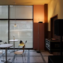 CAFE INTERIOR: 감자디자인의  다이닝 룸