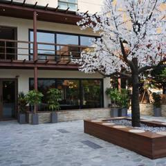 카페 인테리어 CAFE INTERIOR_부산인테리어: 감자디자인의  정원