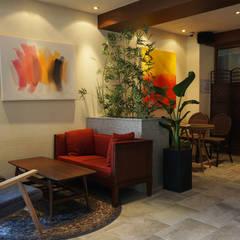 카페 인테리어 CAFE INTERIOR_부산인테리어: 감자디자인의  다이닝 룸,휴양지