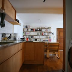 오래된멋을 아는 신혼집 단독주택 리모델링: 주식회사 큰깃의  주방,클래식