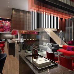 Restaurant:  Hotels von JOI-Design Innenarchitekten