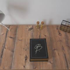 Home Staging piso con toques estilo industrial: Estudios y despachos de estilo  de Home Staging Tarragona - Deco Interior