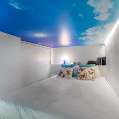 Estudio Mercedes Arce의  작은 침실
