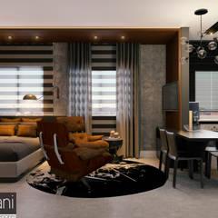 Loft IK: Quartos  por Rromani Studio de Interiores