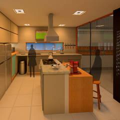 CRIA UM: Armários e bancadas de cozinha  por Diade Arquitetos,Minimalista MDF