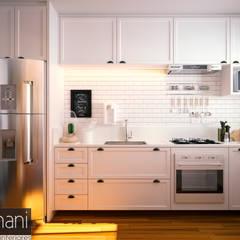 مطبخ تنفيذ Rromani Studio de Interiores
