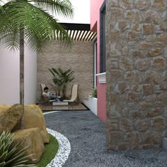 สวน โดย DISARQ ARQUITECTOS., โมเดิร์น