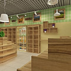 Shopping Centres by Дизайн Интерьера, Rustic