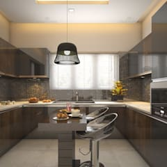 :  Kitchen units by Monnaie Architects & Interiors