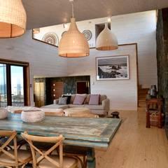 Vivienda Maria Salah: Livings de estilo  por Kimche Arquitectos