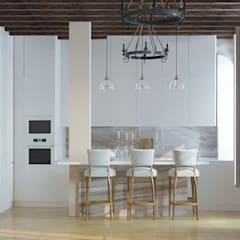 Kitchen units by Yurov Interiors