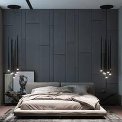 غرفة نوم تنفيذ Yurov Interiors