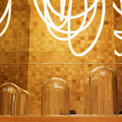 Living de diseño Argentino para CASA FOA 2016 Salones rústicos rústicos de Estudio Plok Rústico