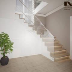 Escadas  por студия дизайна интерьеров Веры Невской