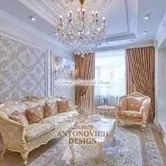 Гостевой зал: Гостиная в . Автор – Студия Luxury Antonovich Design