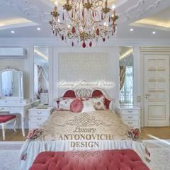 غرفة نوم بنات تنفيذ Студия Luxury Antonovich Design
