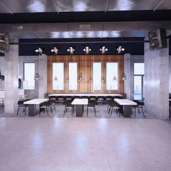 Hotel Vulcan: styl , w kategorii Ściany zaprojektowany przez Malcherek Studio