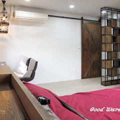 2樓女兒房:  臥室 by 心之所向設計美學工作室